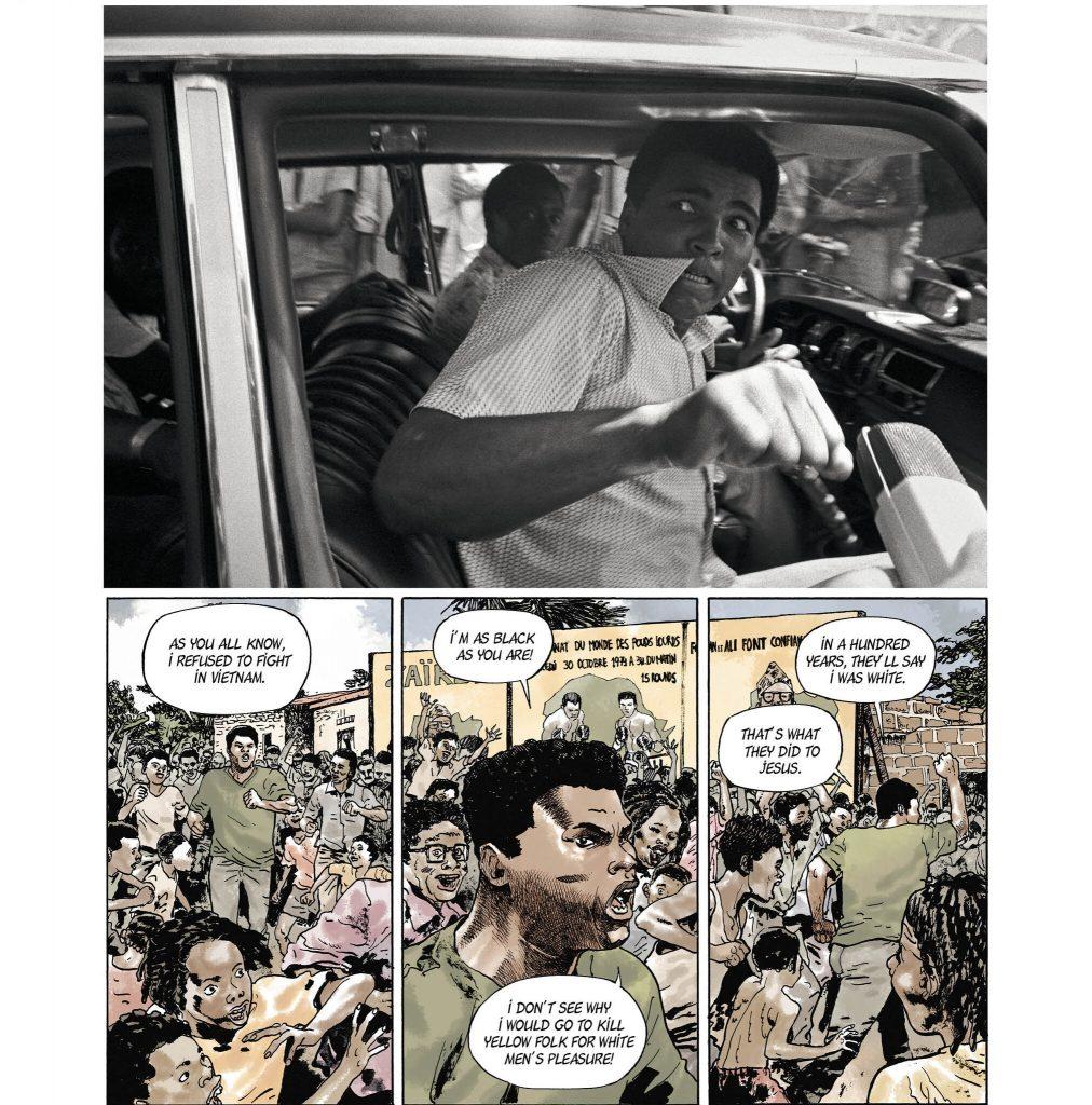 Muhammed Ali photography comic