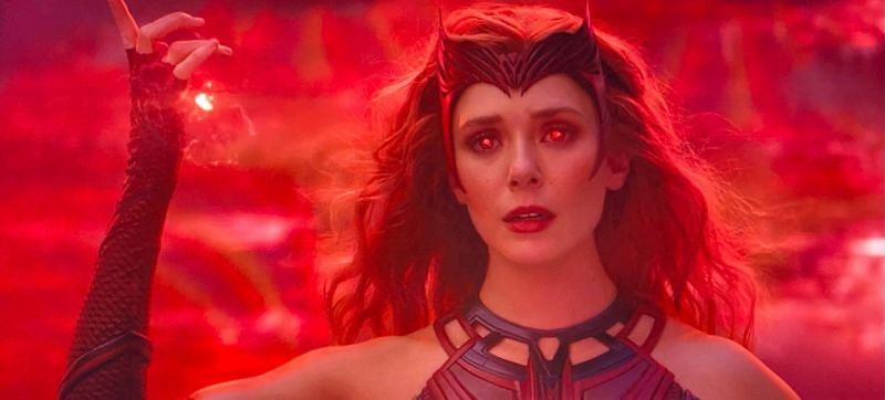 Scarlet Witch costume in WandaVision