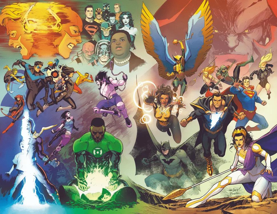 DC Infinite Frontier art