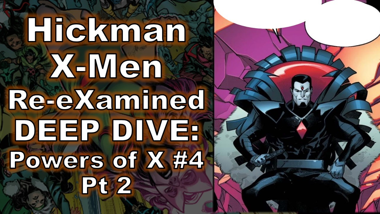 Hickman Powers of X #4 Mister Sinister