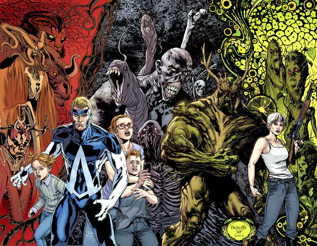 New 52 Animal Man comic books