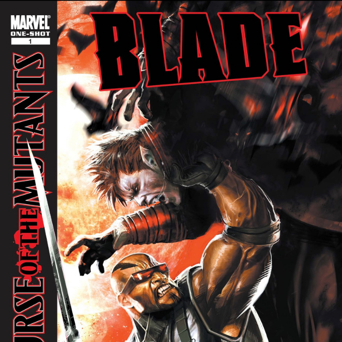 Blade in the Curse of the Mutants crossover