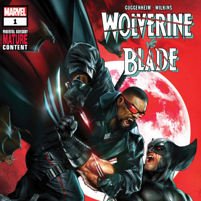Wolverine and Blade comic book