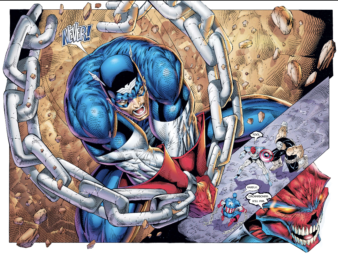 Rob Liefeld Captain America