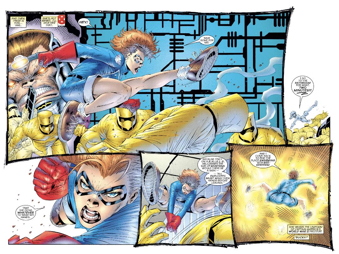 Heroes Reborn Captain America 4