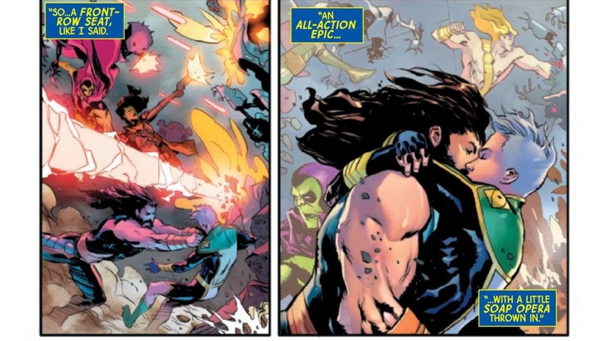 Hercules and Marvel Boy