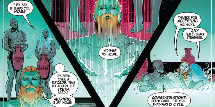 Star Lord in Al Ewing's Guardians of the Galaxy