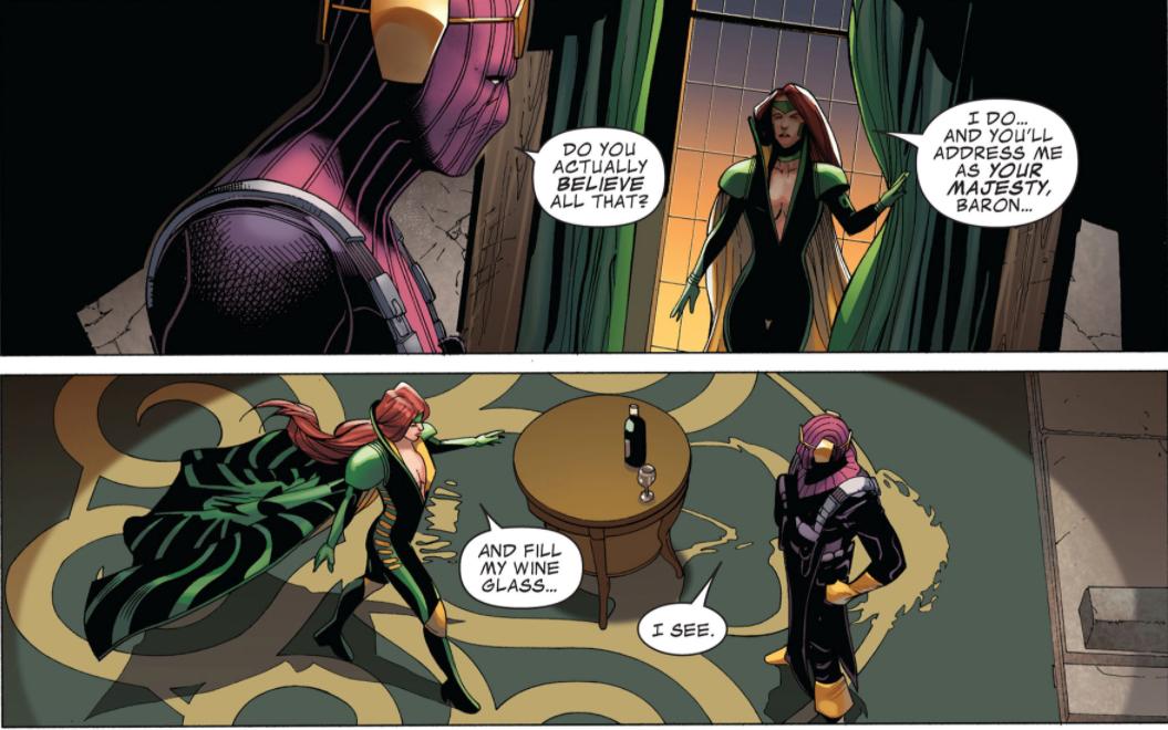 Marvel's Hydra Queen
