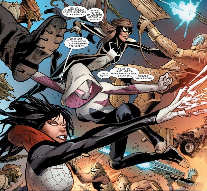 Silk and the Spider-women