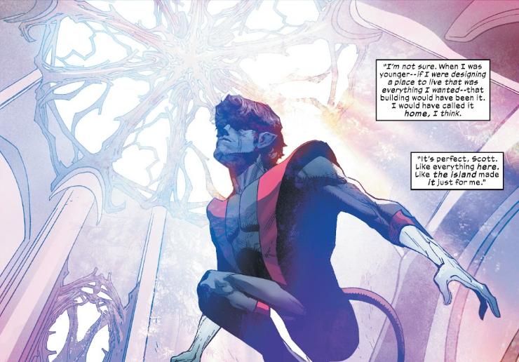Nightcrawler in X-Men #7 by Hickman