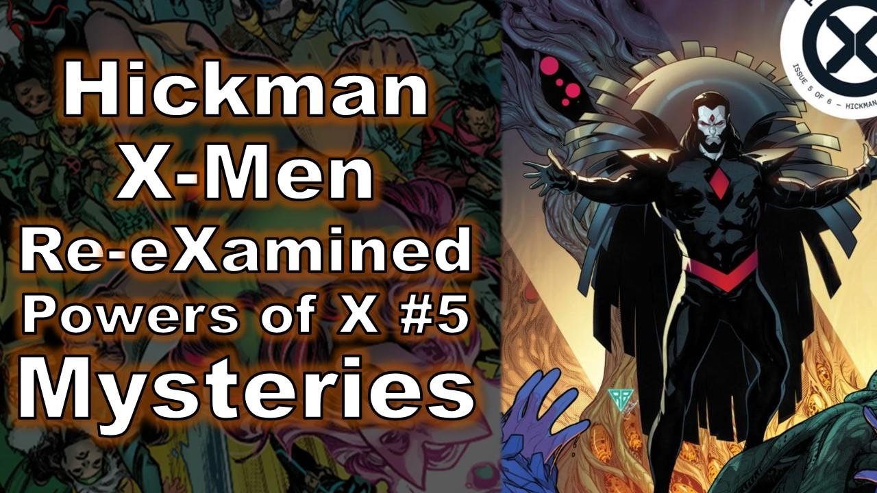 Hickman Powers of X #5