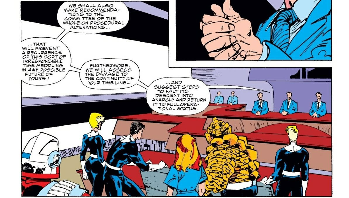 Marvel Time Variance Authority