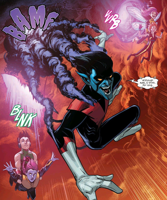 Nightcrawler in Marvel's Way of X #1