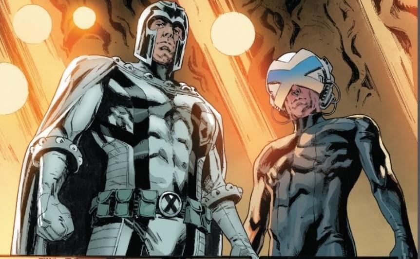 Magneto and Professor X