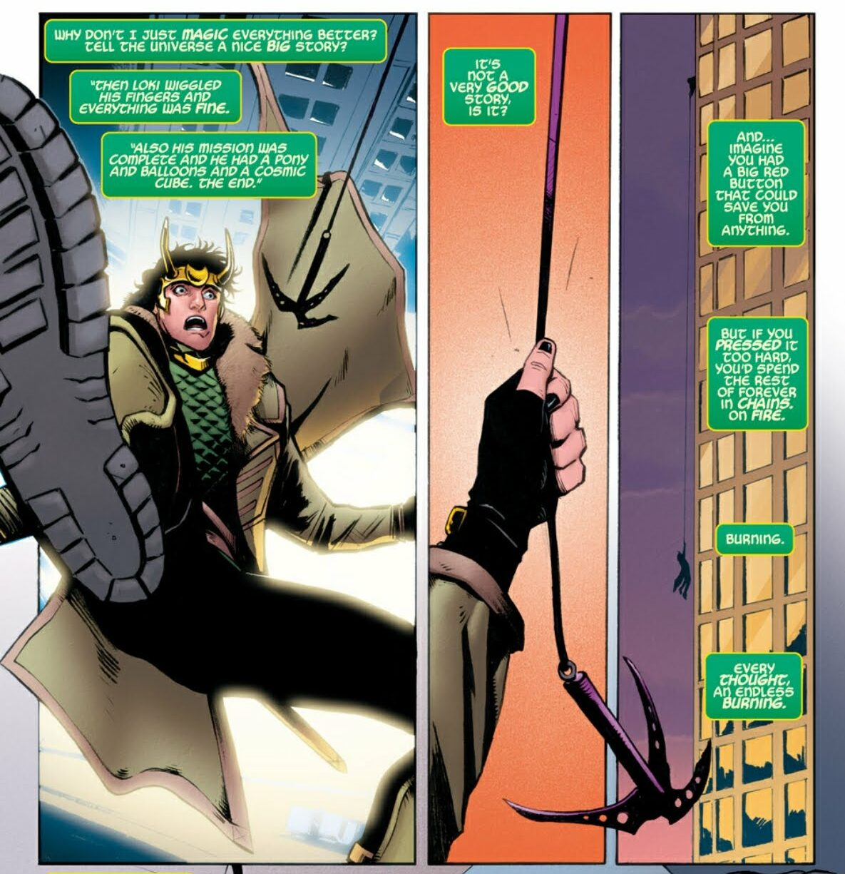 Loki vs Avengers