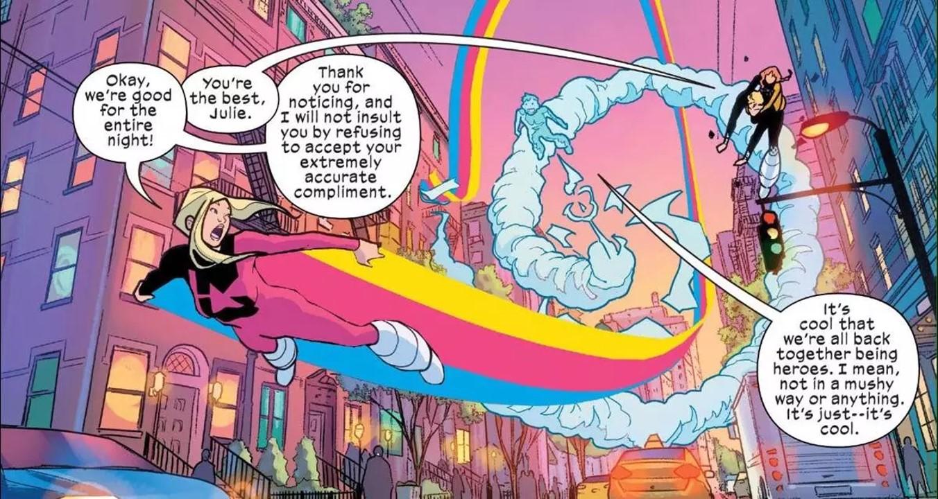 Power Pack 2020 comics series
