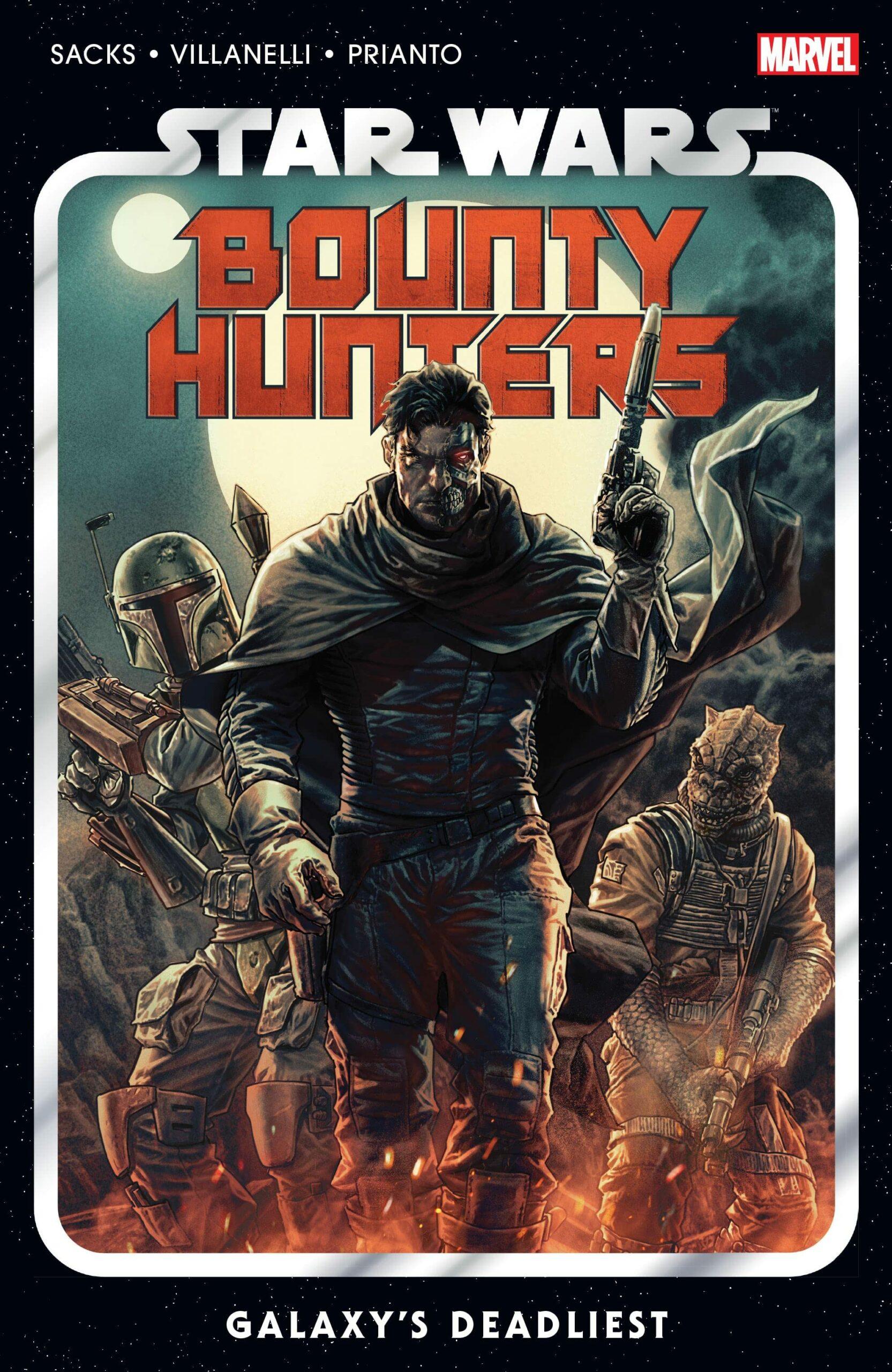Bounty Hunters of the Star Wars comics universe