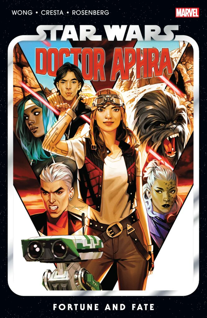 Star Wars Doctor Aphra comics by Alyssa Wong