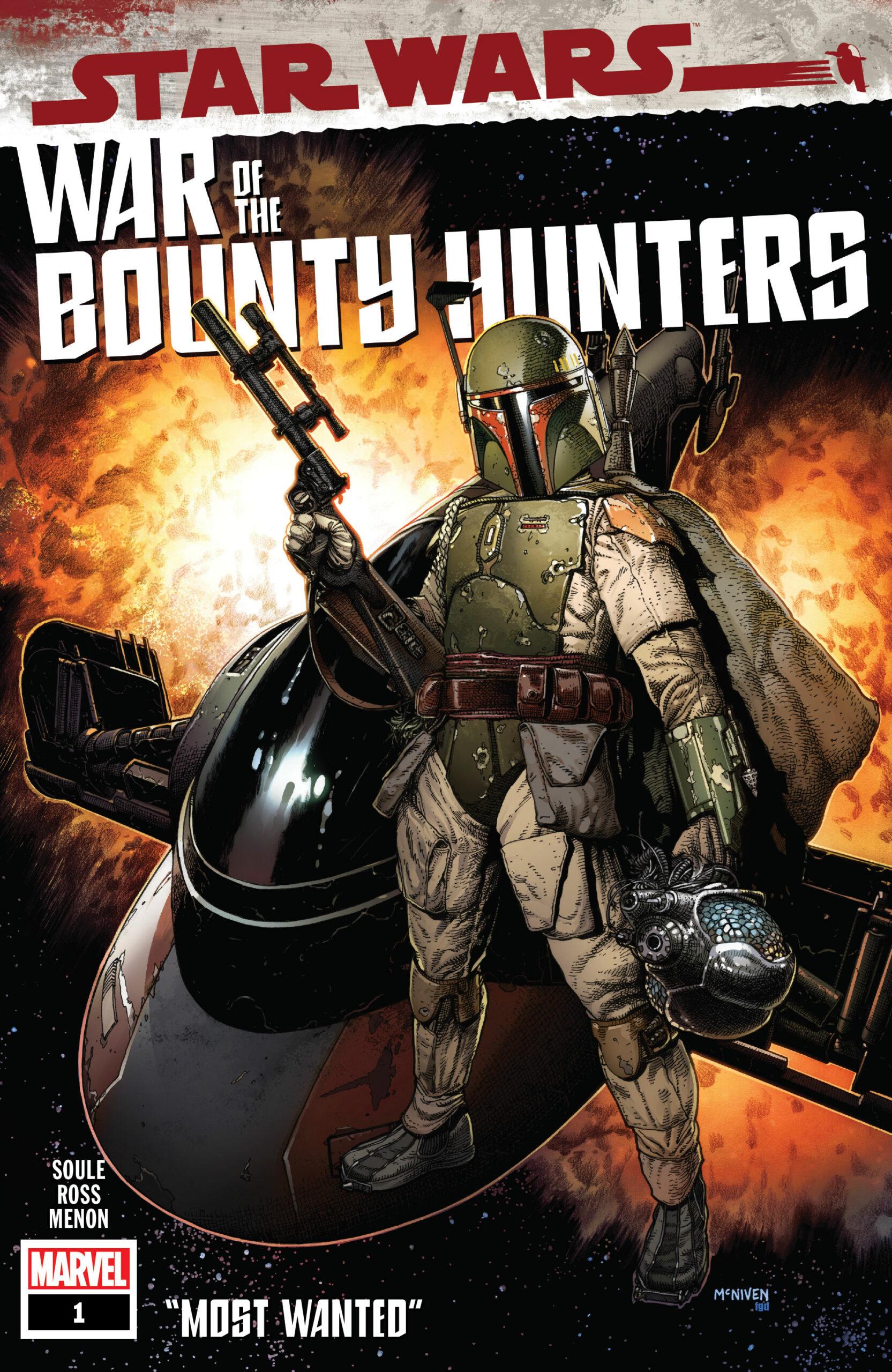Charles Soule's War of the Bounty Hunters comic books