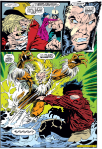 Wolverine and Sabretooth Marvel Comics