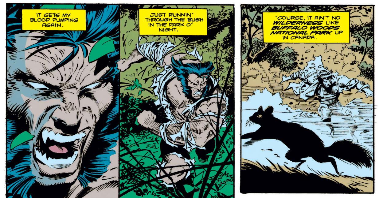 Wolverine Wolf