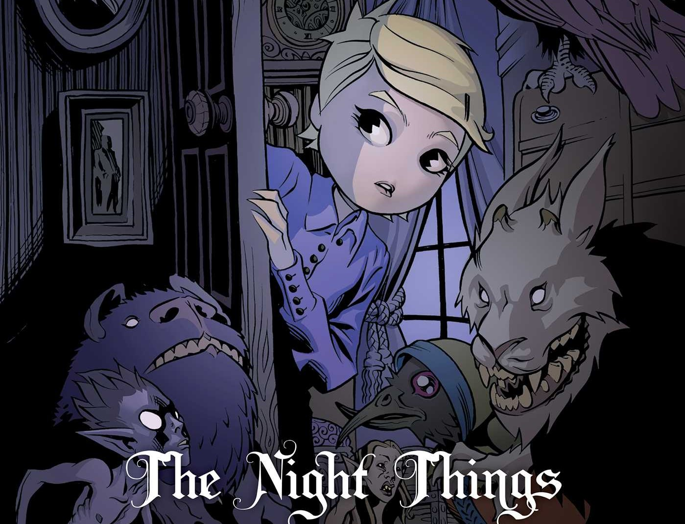 Courtney Crumrin and the Night Things comic books