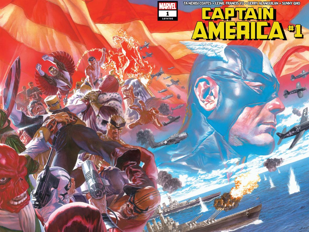 Captain America comics by Ta-Nehisi Coates