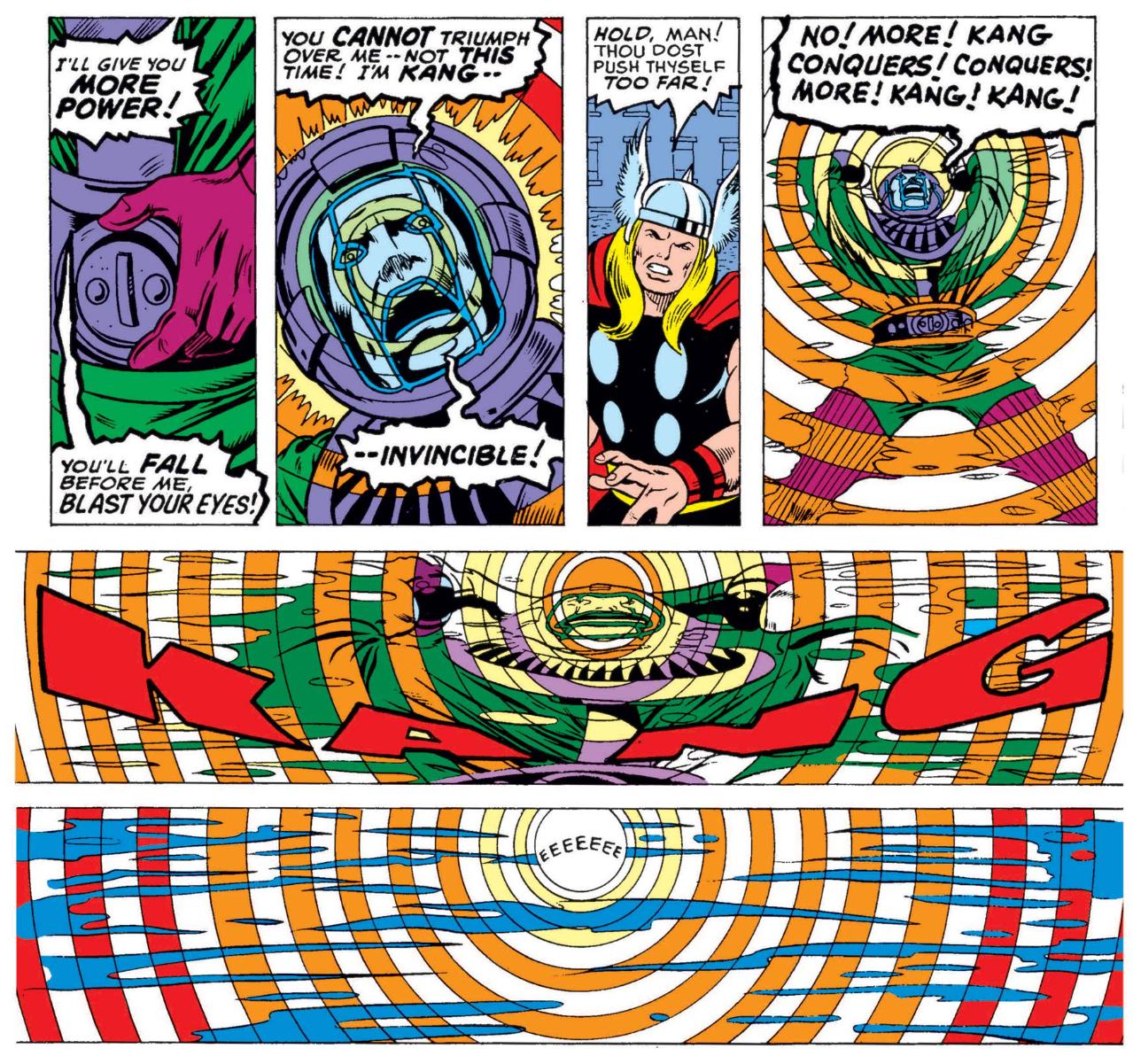 Kang in Avengers #143