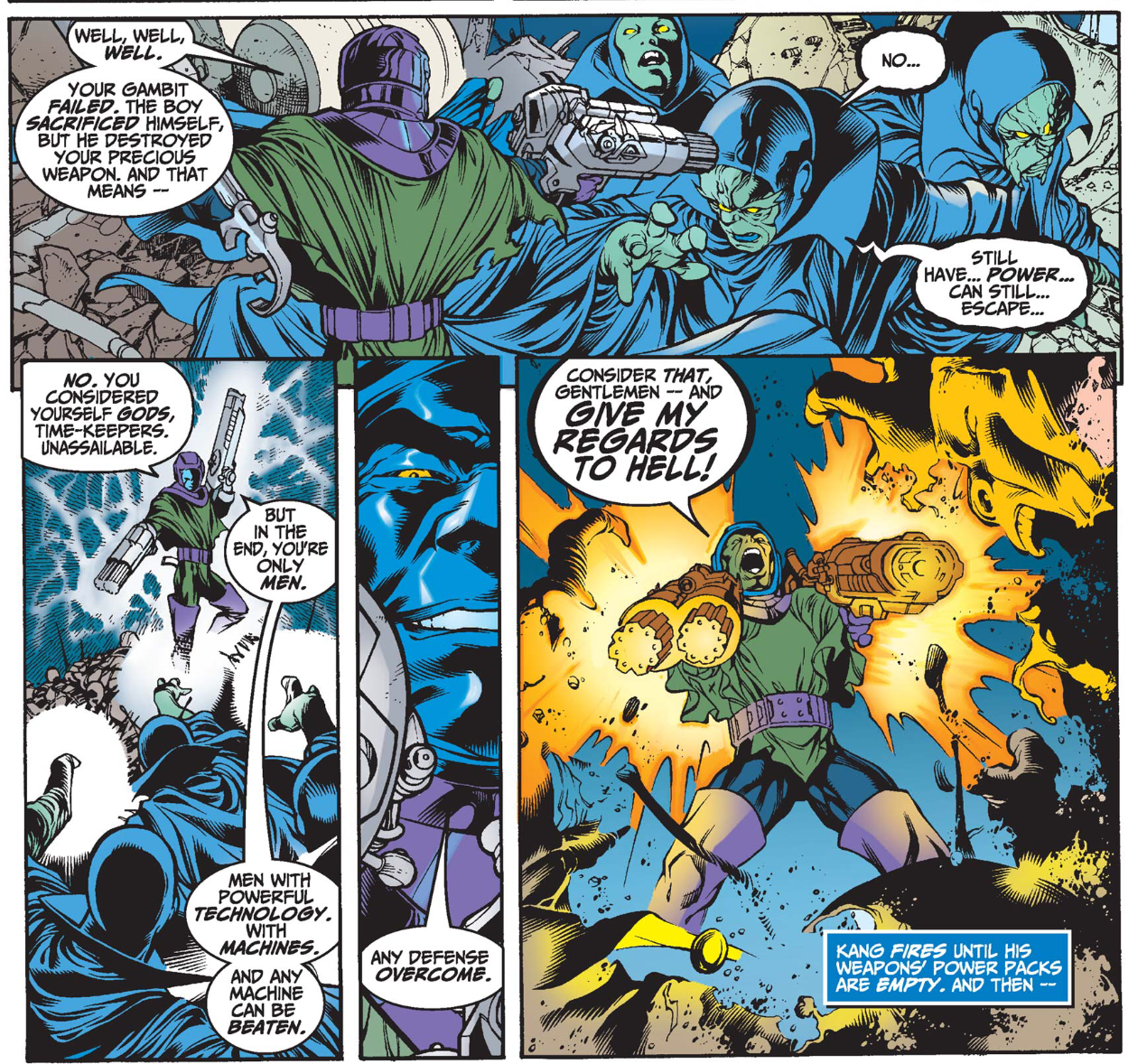 Kang the Conqueror in Avengers Forever