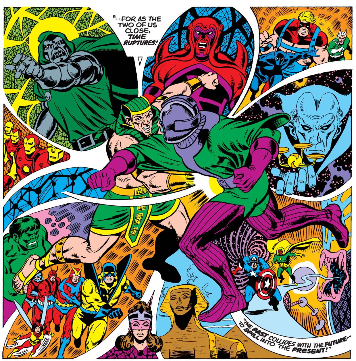 Kang in the Celestial Madonna saga comics