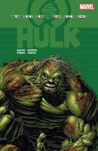 Hulk The End comic