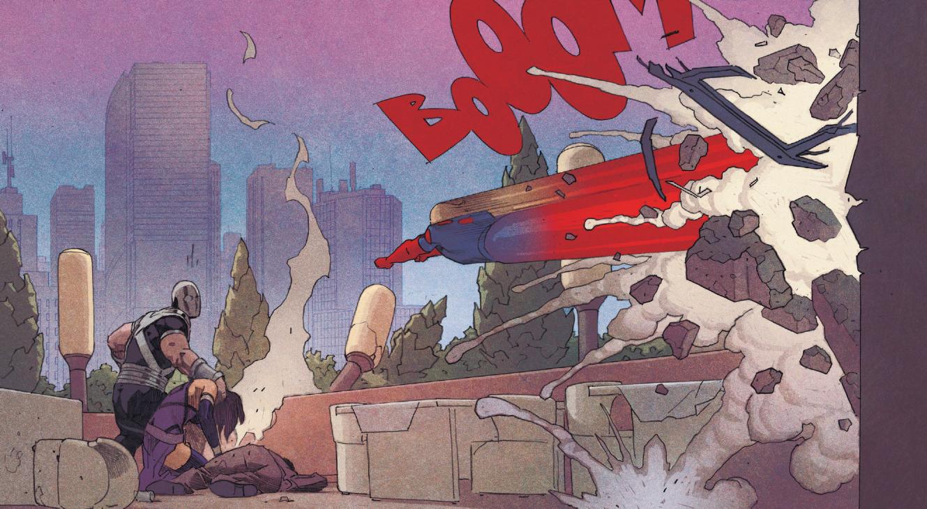 Superman and Eternals comics