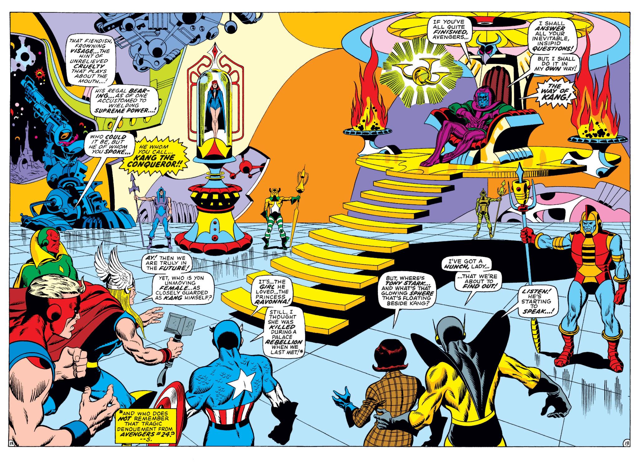 Kang the Conqueror vs Avengers