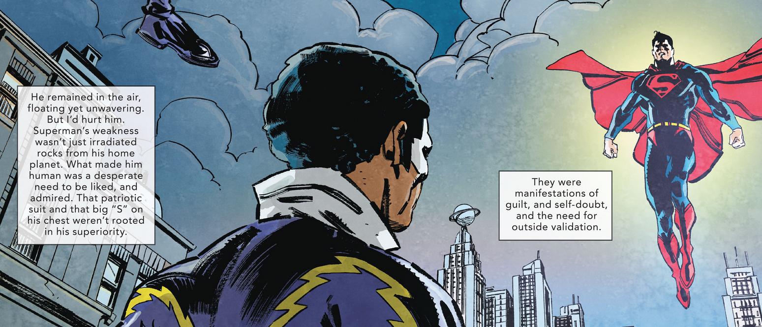 Black Lightning meets Superman