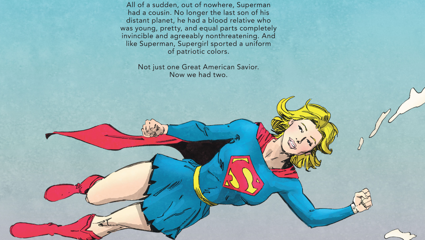 Supergirl in The Other History of the DC Universe