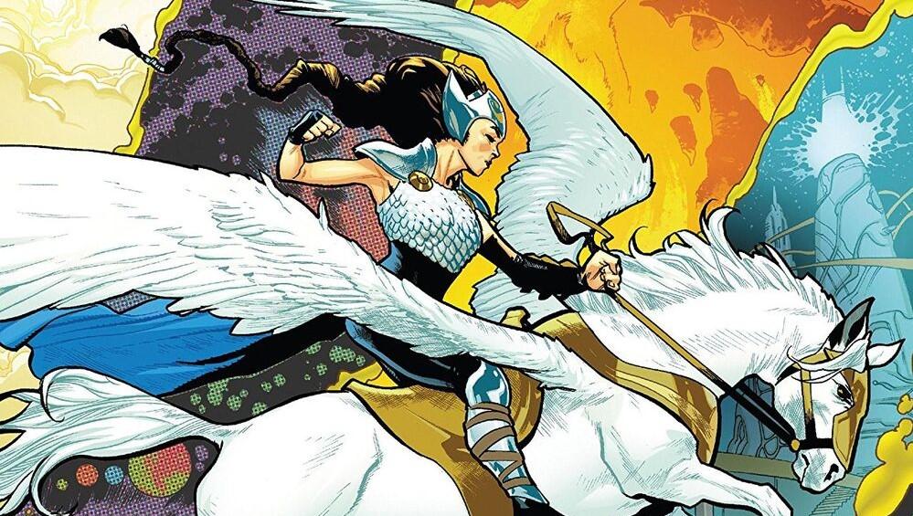 comics femme puissante marvel