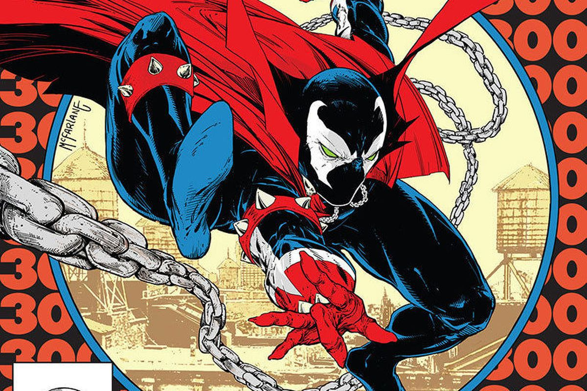 Spawn #300 cover by Todd McFarlane